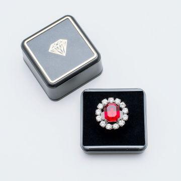 Schmuck der Königinnen - Ring rot