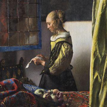 Zeitkarte Sonderausstellung Vermeer
